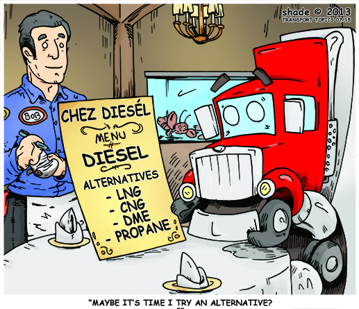 Transport Topics Cartoon